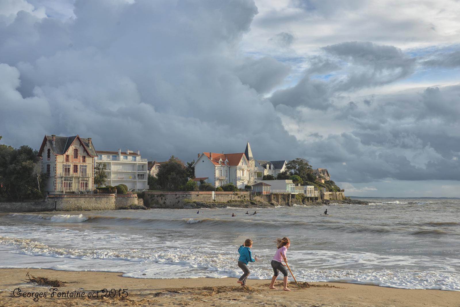 Saint palais sur mer grandes mar es plage du bureau - Office du tourisme saint palais sur mer ...